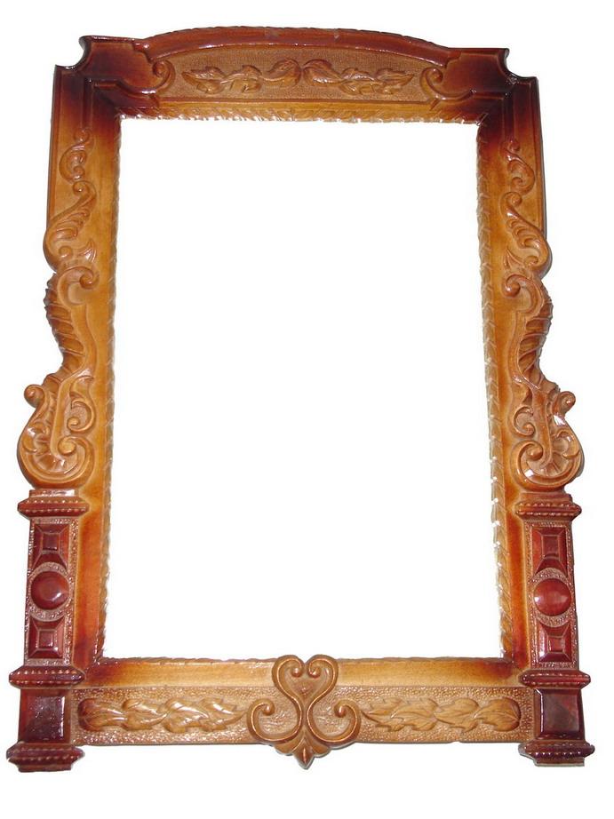 Зеркало из дерева своими руками 246